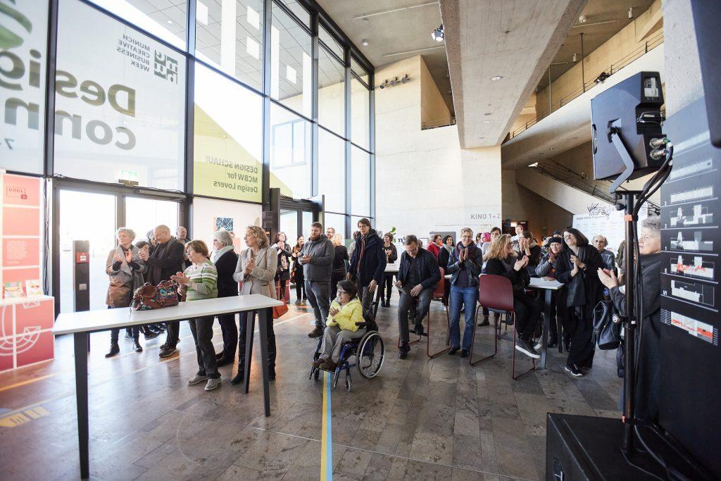 Foto der Eröffnung des oursuperstores der MCBW 2020